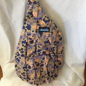 KAVU Rope Bag Wild Spots Crossbody Backpack Bag